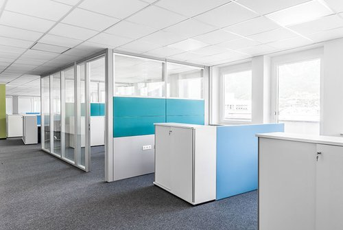 Infrastruktur rund um die Büros in Innsbruck